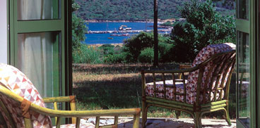 View from a room of the Guest Quarters at the Alghero centre